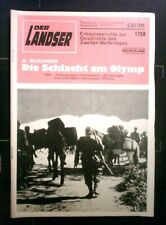 Der Landser Nr: 1758   Die Schlacht am Olymp