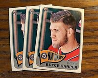 2014 Topps Heritage #400 Bryce Harper - Nationals (3)