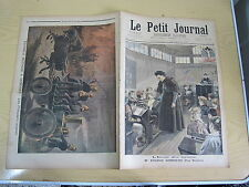Le petit journal 1897 n° 368 Incendie Londres Pompiers anglais
