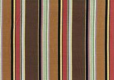 EC MIlls Fabric Jay Yang  Dhaka  Brown Linen Blend Drapery Upholstery