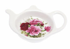 Kirsty Jayne China ditsy, pretty, pink rose SUMMERTIME PINK Teabag Tidy