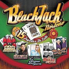 Various Artists : Black Jack Norteno CD