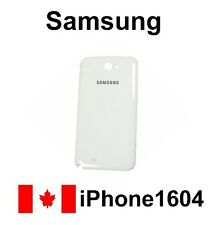 White Samsung Galaxy Note 2 N7100 Back Cover Battery Door Housing Fast Shipping