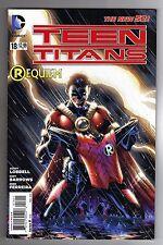 TEEN TITANS #18 - EDDY BARROWS ART & COVER - DC's THE NEW 52 - 2013