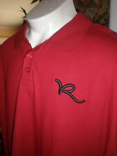 NWT Rocawear CLASSIC RED GREY POLO SHIRT SZ:3XB 3XL 3X  XXXL
