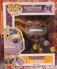 Funko Pop! Vinyl #78 Marvel Guardians of the Galaxy Thanos Glow in the Dark RARE