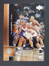 Tim Hardaway & B.J. Armstrong 1996-97 Upper Deck Wrong Back Error Heat Warriors