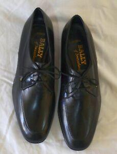 "BALLY of Switzerland ""Arenta"" Black Mens Dress Shoes - Size 8 1/2 E"