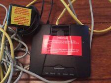 Siemens SpeedStream 4100B DSL Modem Black GCI Technologies AM12500 Ethernet ADSL
