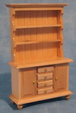 DOLLSHOUSE 1/12 SCALE WELSH DRESSER IN PINE