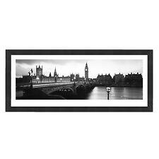 London Cityscape Grande photographie panoramique encadrée