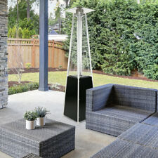 Garden Radiance GRP3500BK ''Dancing Flames'' Black Pyramid Outdoor Patio Heater