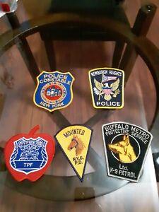 New york police patch