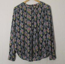 Ann Taylor LOFT Women's Floral Print Top Blouse Size XS