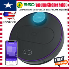 360 S6 Robotic Vacuum Cleaner Lds Smart automatic Sweeping & Mopping App Control