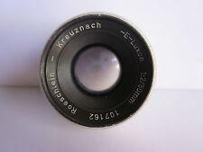 Luxon Roeschlein Kreuznach 50mm f2 Lens Braun Paxette M39 39mm Screw Mt Rare