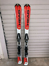 snowblades mini skis HEAD xs the link 128 cms fartés affûtés PRETS A SKIER