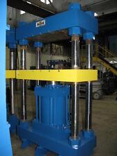 "New listing 300 Ton Wabash 45"" x 25"" Hydraulic Four-Post Press"