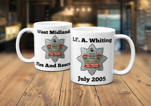 West Midlands Fire and Rescue Service Personalised Coffee/Tea Mug