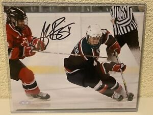 Angela Ruggiero Signed Team USA 8x10 Photo Steiner