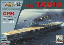 IJN TAIHO Japanese aircraft carrier paper card model 1:200 huge 136cm