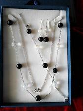 Gioielli argento 925° artigianali su misura: parure catena/orecchini/bracciale