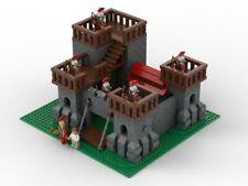 LEGO Settlers Roman Castle MOC Instructions, 3D file, NO BRICKS