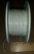 (25 FT) M16878/17BBB9 Copper Alloy / Tin (White) Cable Wire 30AWG 1/C 7/Per 600V