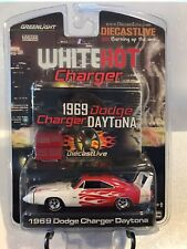 Greenlight~2008~White Hot Charger~1969 Dodge Charger Daytona~Limited Edition