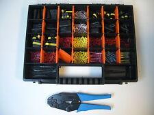 30 x AMP Superseal Stecker Set 1- 6-polig inkl. Crimpzange Sortimentskoffer