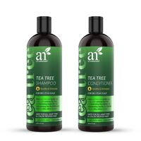 Tea Tree Shampoo & Conditioner Duo  Softens w/ Aloe Vera - 16 oz
