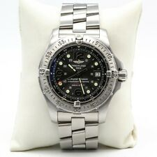 BREITLING 1884 SUPER OCEAN AUTOMATIC 42MM MENS WATCH CERTIFIED 2000M DIVER- 8539