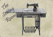 The Sewing Room,Vintage, Retro,Collectable, Enamel,Metal Sign, No.496