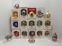 Huge Lot Of 19 Vintage Campbell's Collector Edition Christmas Ornaments