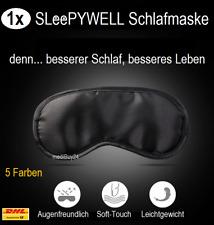 Schlafmaske Schlafbrille Augenmaske Kinder & Erwachsene verstellbar Blickdicht