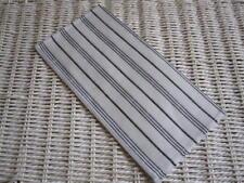 White & Black Striped 100% Linen Napkin