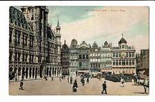 CPA-Carte Postale-BELGIQUE-Bruxelles -Grand Place -1920- S3315
