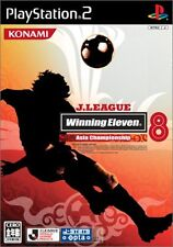Used PS2 J.League Winning Eleven 8 -Asia Championship- Japan Import