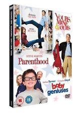 PARENTHOOD BABY GENIUSES YOURS MINE & OURS 3 DISC BOX SET REGION 2 DVD EXCELLENT