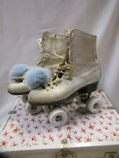 Antique Roller skates with Case and Keys Chicago Roller Skate Co Ware Bros 1914