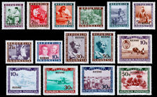 Indonesia Vienna Issues - Revolution Postage & Airmails (1947-48) Mint H VF   C