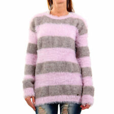 Damen-Pullover & -Strickware mit Rundhals-Ausschnitt aus Mischgewebe Normalgröße