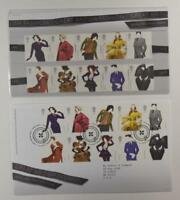 2012 ROYAL MAIL PRESENTATION FOLDER GREAT BRITISH FASHION & FDC LOT 399*