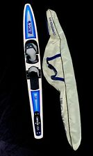 """New listing Connelly 64"""" Adjustable Slalom Water Ski W/Competition Wing Skag And Travel Bag"""