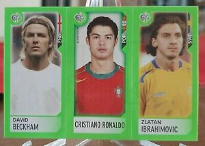CRISTIANO RONALDO PANINI GERMANY 2006 WORLD CUP MINISTICKER ROOKIE WORLD CUP