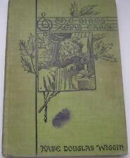 Vintage Book The Birds Christmas Carol By Kate Douglas Wiggin 1888