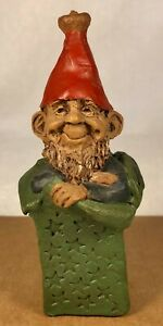 """GIFT """"F""""-R 1987~Tom Clark Gnome~Cairn #5016~Ed #10~Hand Signed~Story Included"""