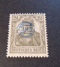 """GERMANIA,GERMANY D.REICH PLEBISCITO 1920 OVP """" C.I.H.S."""" 2,5 c MH RARE signed"""