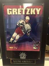 "Offfically Licensed NHL New York Rangers Wayne Gretzky Plaque 16""x11"" US Seller"
