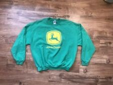 Women's John Deere Xl Crew Sweatshirt. Brand: Jerzees Color: Green